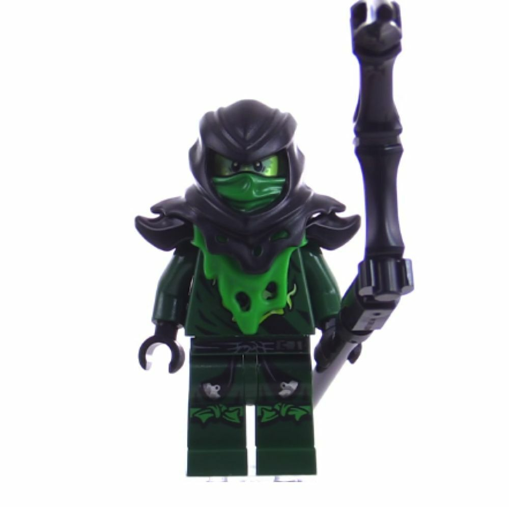 Lego ninjago evil green ninja lloyd from 70736 attack of the morro dragon new ebay - Ninja ninjago ...