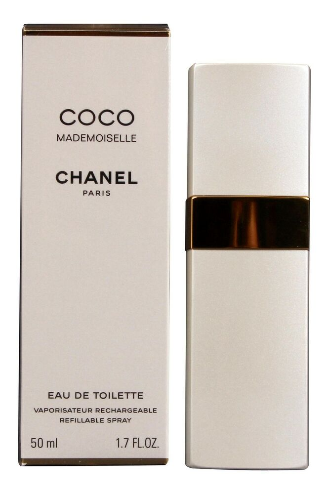 chanel coco mademoiselle eau de toilette 50ml rcechargeable new free delivery ebay