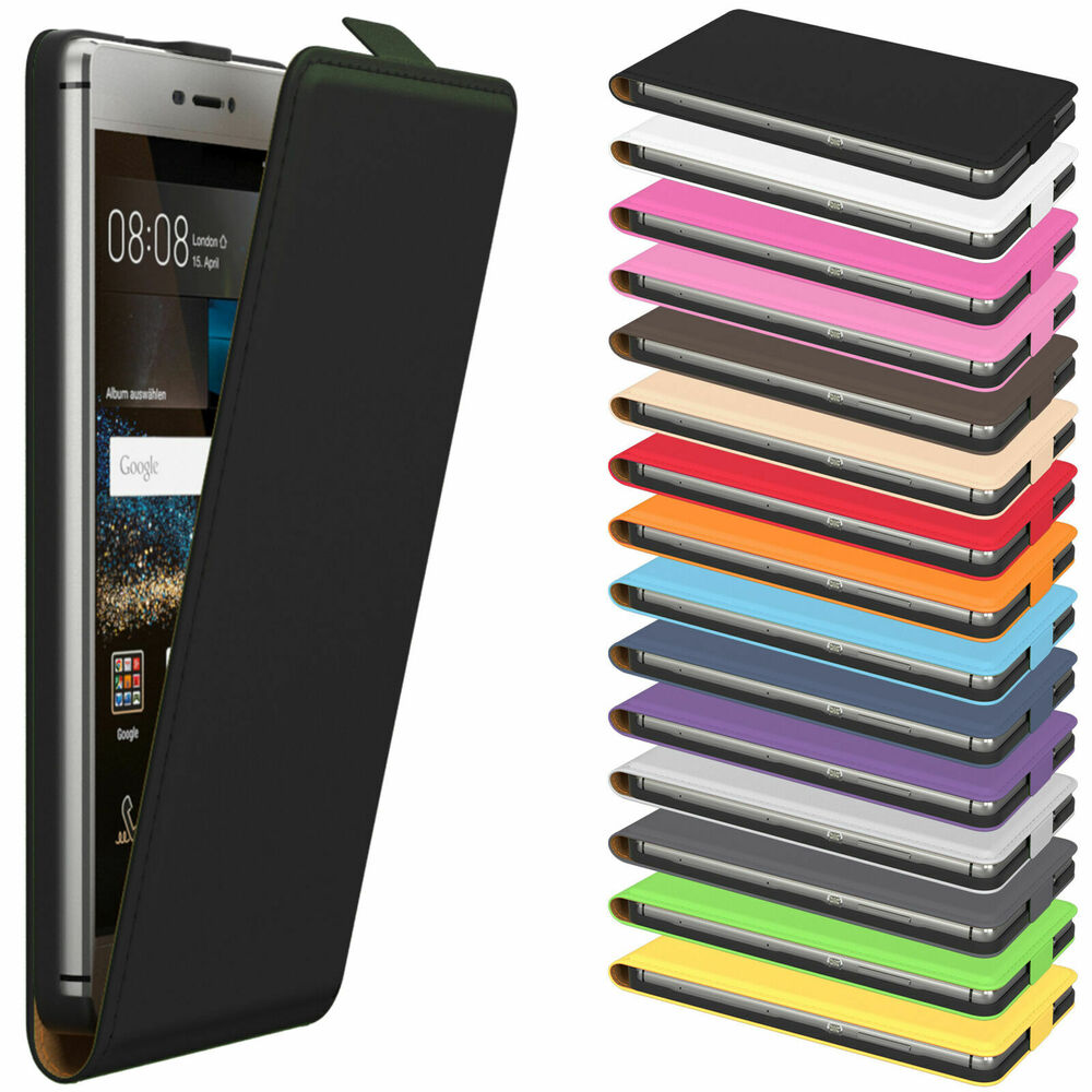 handy tasche f r huawei flip case cover schutz h lle etui schale bumper wallet ebay. Black Bedroom Furniture Sets. Home Design Ideas