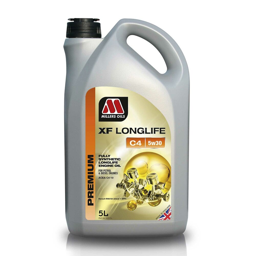 millers oils xf longlife c4 5w30 fully synthetic engine. Black Bedroom Furniture Sets. Home Design Ideas