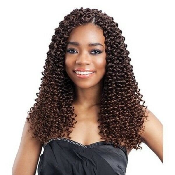 Buy Crochet Hair Uk : ... WAVE 12 - FREETRESS SYNTHETIC BULK BRAIDING HAIR EXTENSION eBay