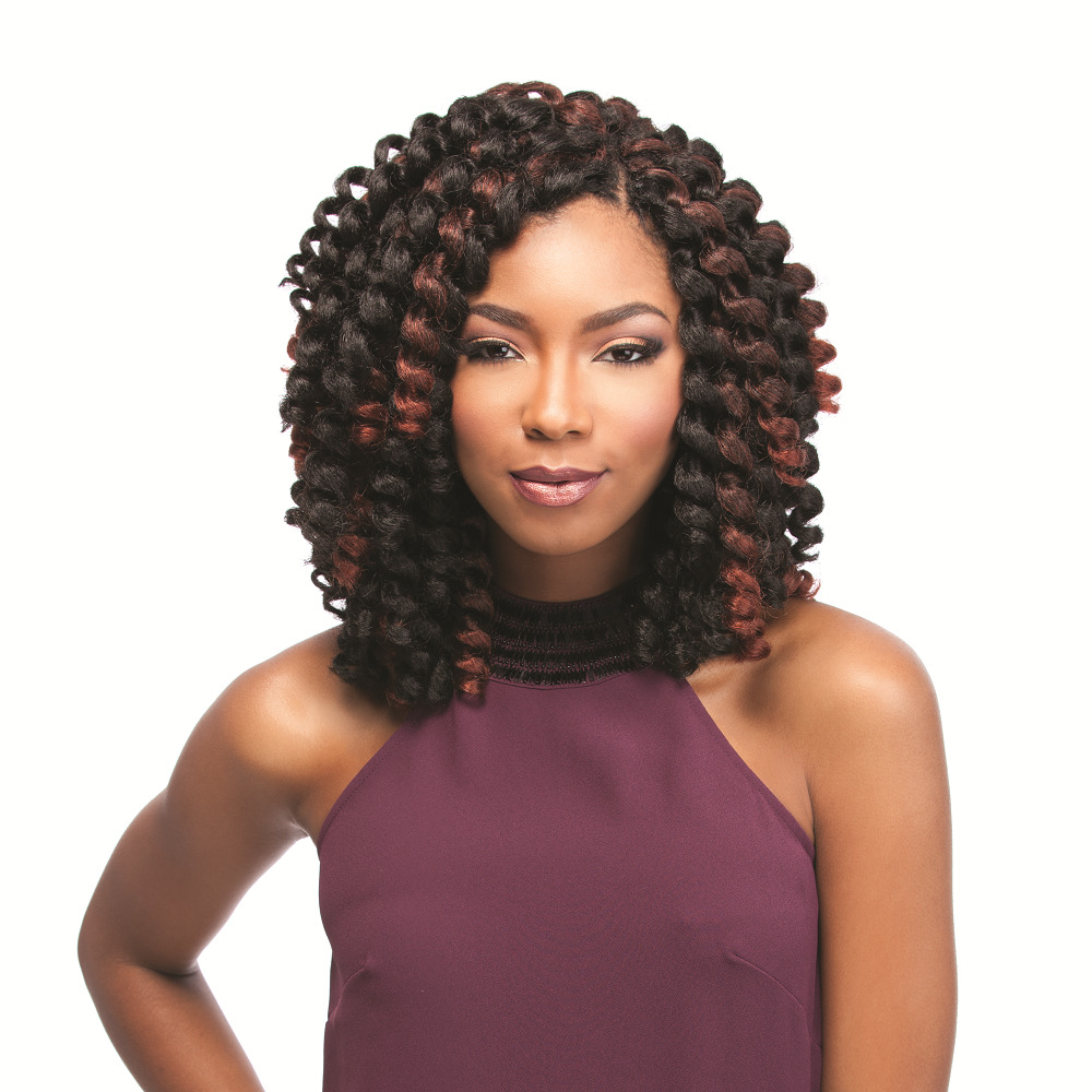 Curly Crochet Braids With Xpression Hair : ... 26 - SENSATIONNEL AFRICAN COLLECTION KANEKALON CROCHET BRAID eBay