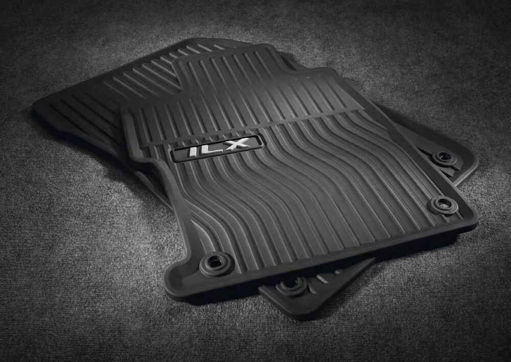 Genuine Acura 2013 2015 Ilx All Season Floor Mat Set In