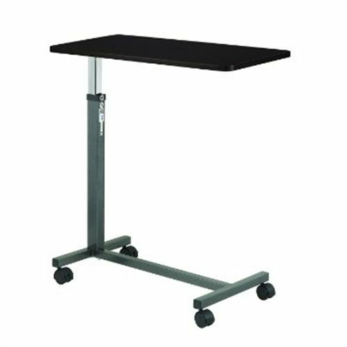 Drive Medical Overbed Laptop Food Tray Rolling Table