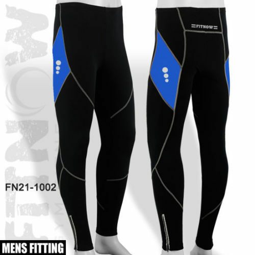 Mens Winter Cycling Tights Cycle Coolmax Padded Legging ...