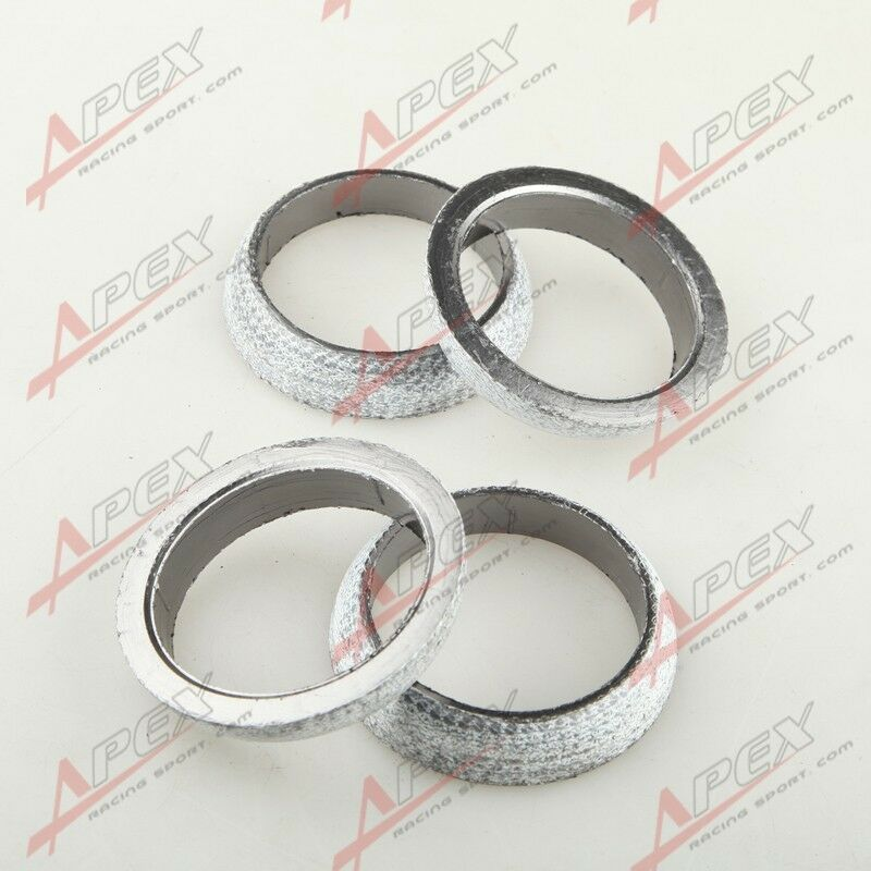 """4PCS 2.75""""HEADER/MANIFOLD/DOWNPIPE EXHAUST FLANGE WELD-ON"""