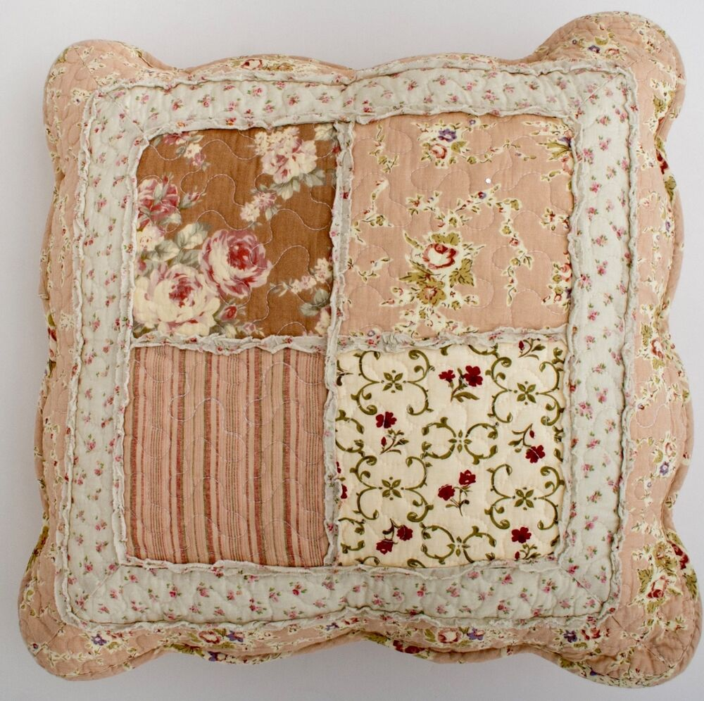 Shabby Chic Throw Cushion Pillow Cover 45x45cm Matching