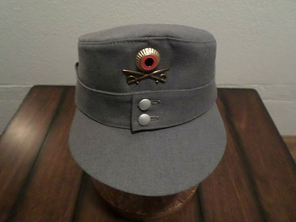 GERMAN MILITARY ARMY MOUNTAIN TROOPS M-43 HAT WITH