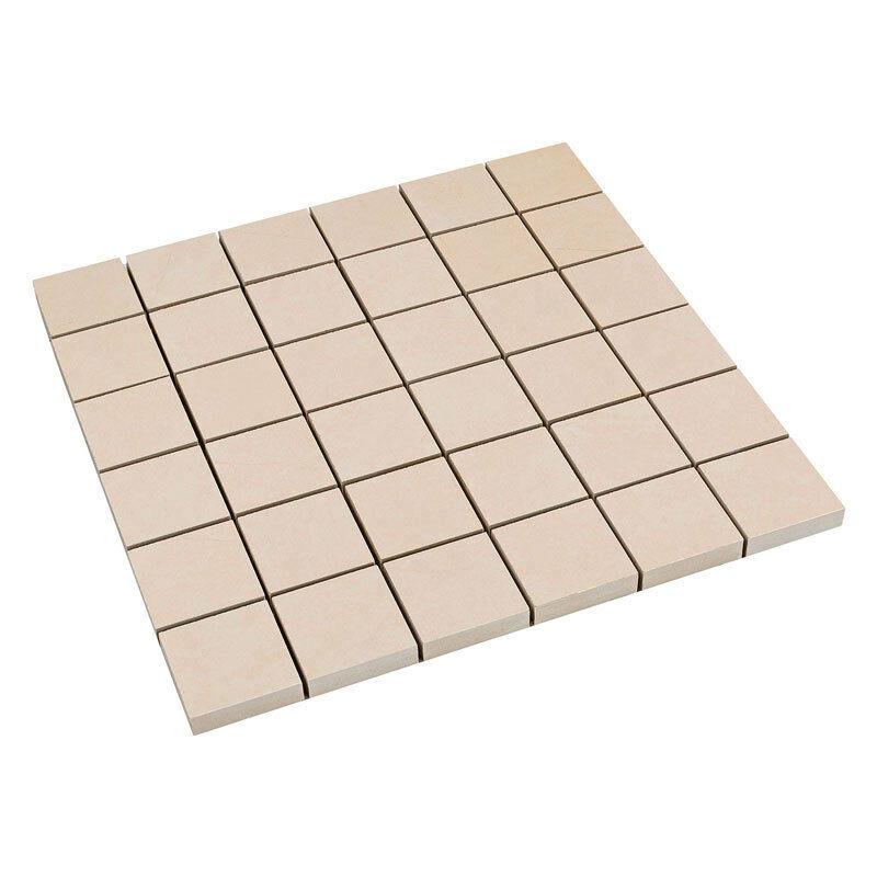 feinsteinzeug mosaik fliesen mosaikfliesen beige sand creme 5 x 5 cm ebay. Black Bedroom Furniture Sets. Home Design Ideas
