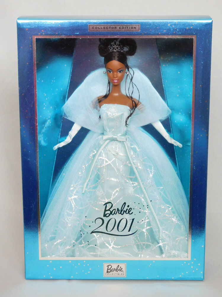 Rare Barbie Doll 2001 Aa Asha Facemold Collector Edition