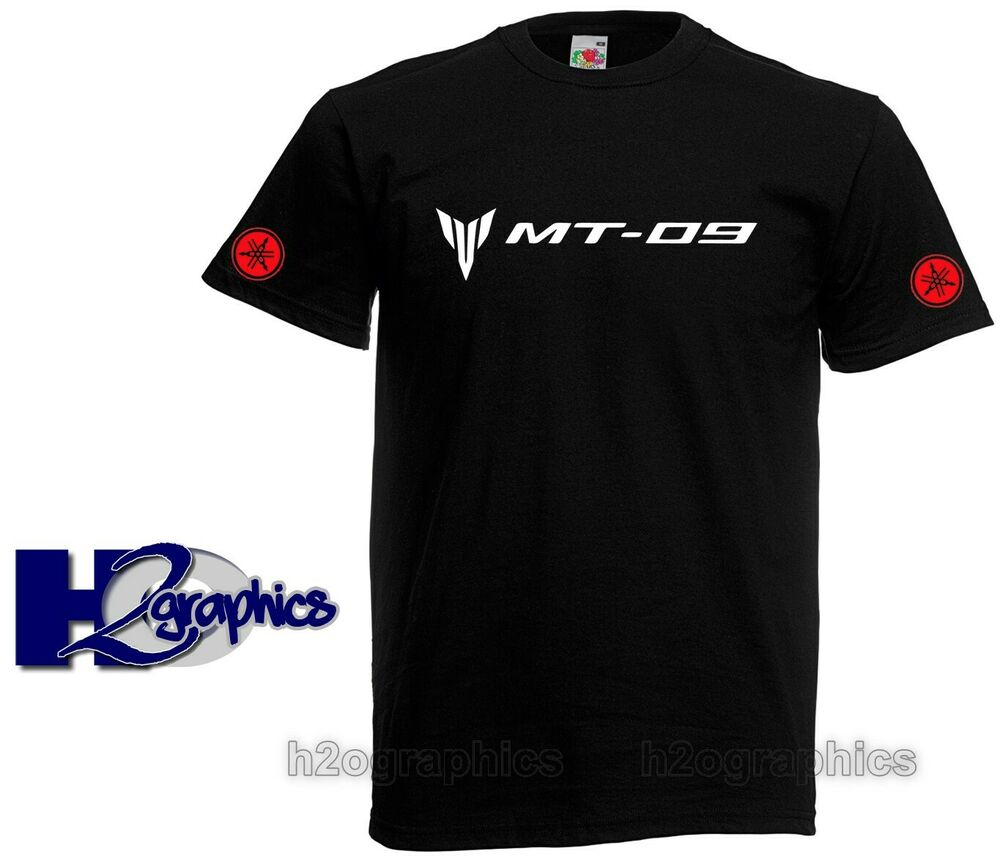 new mens yamaha mt 09 tribute t shirt sizes small to 3xl. Black Bedroom Furniture Sets. Home Design Ideas