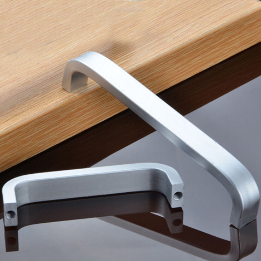 handles for kitchen cabinet doors new space aluminum modern cabinet door drawer pull handle 16166