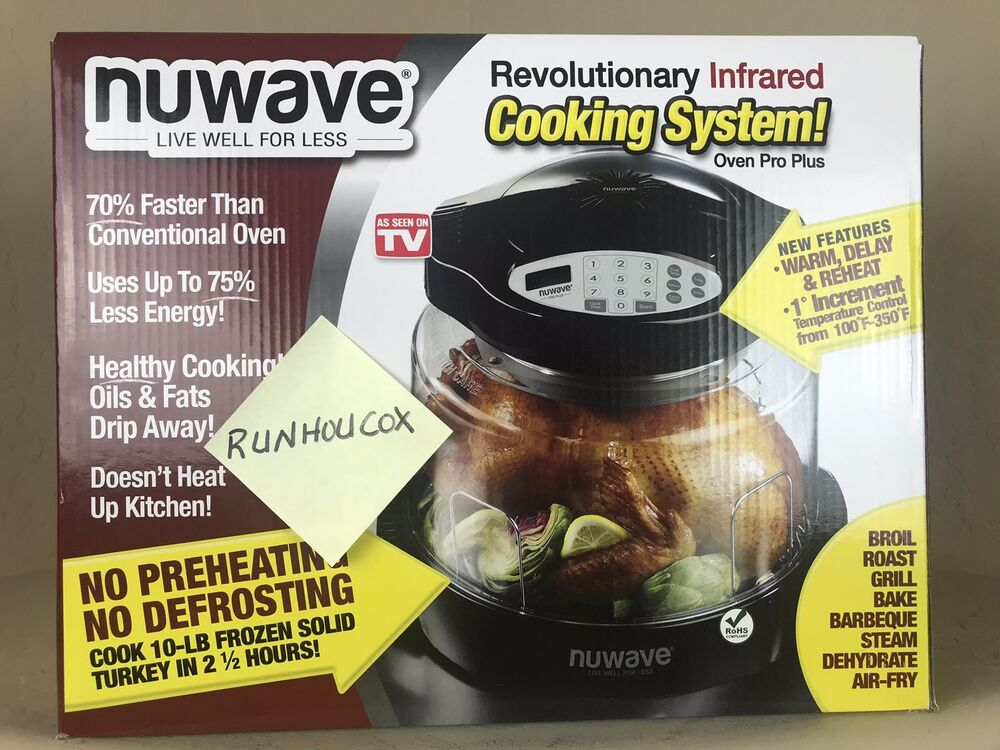 NuWave Pro Plus Countertop Oven NEW IN BOX eBay