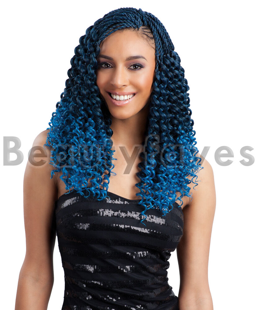 Crochet Braids Ebay : ... BOHEMIAN - FREETRESS BRAID BULK CROCHET BRAIDING HAIR EXTENSION eBay