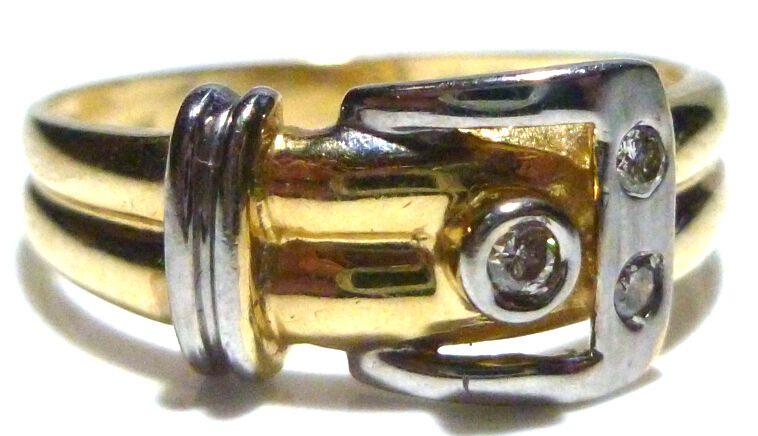 Antique Belt Buckle Ring