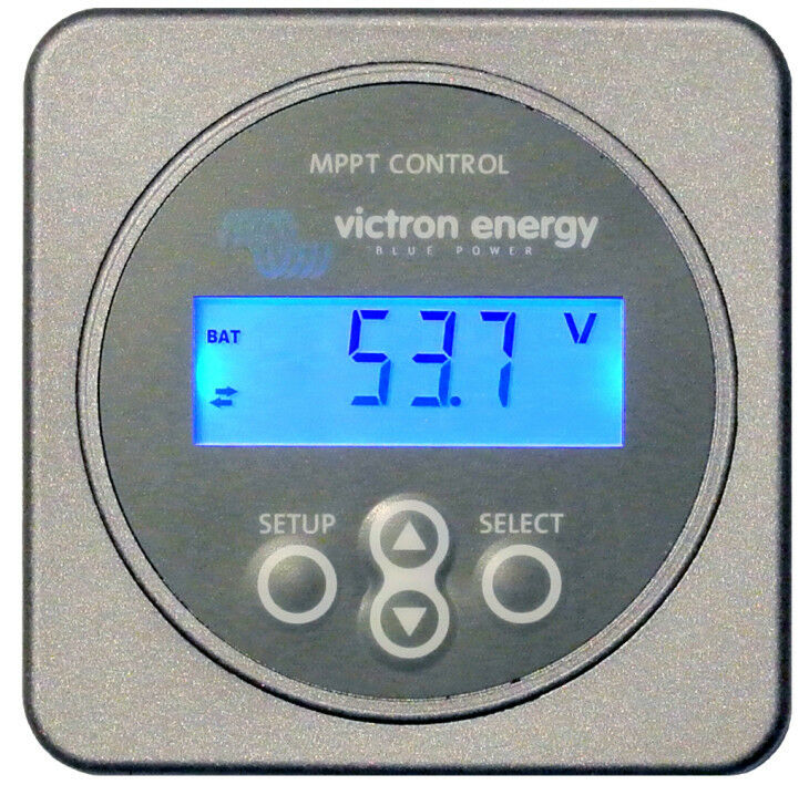 Victron Energy Mppt Control Panel For Solar Chargers With