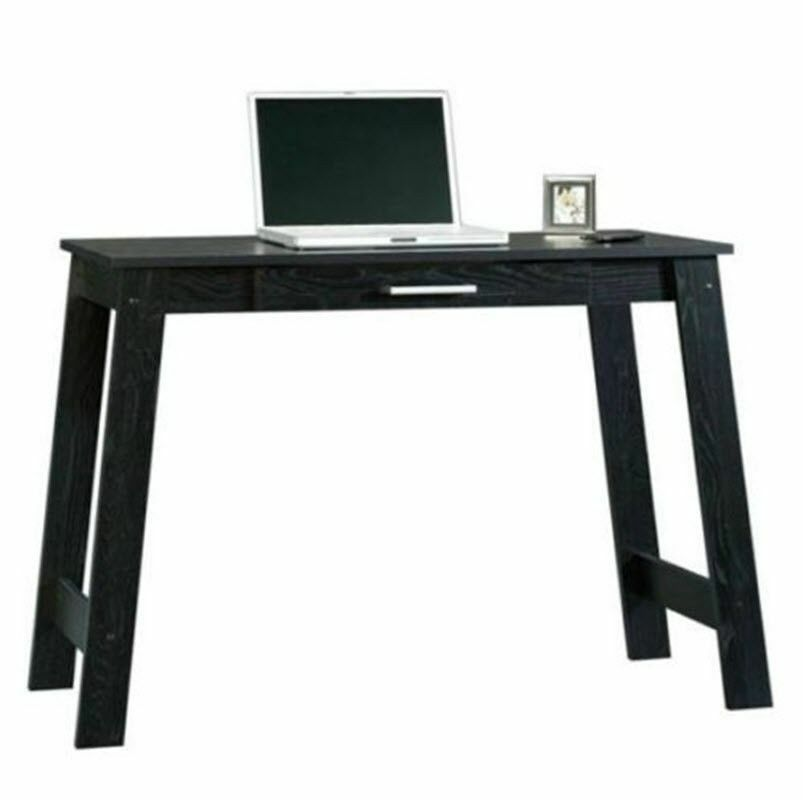 desk home study furniture office dorm laptop wood black ebay