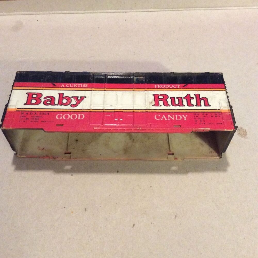 Vintage Baby Ruth Good Candy Train Box Car HO Scale Tyco