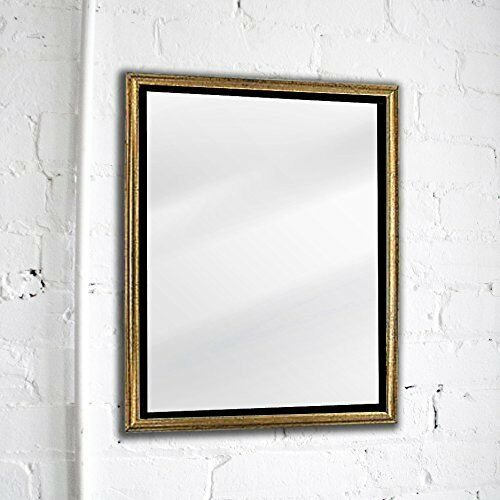 Vintage wall mounted mirror bathroom living room decor retro style frame 17x13in ebay Frames for bathroom wall mirrors