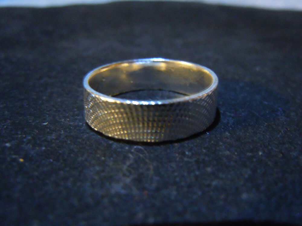 New pure silver 999 bullion sz10 mens ring made by for Fine silver 999 jewelry