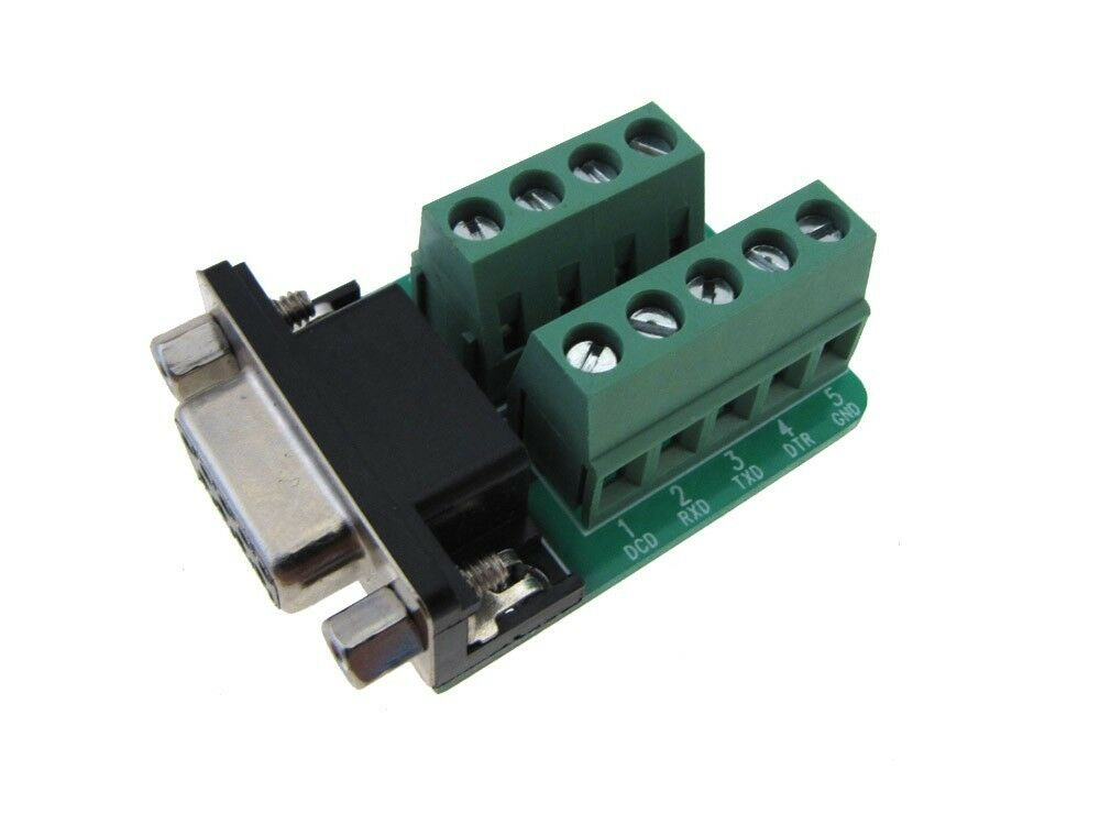 Db female signals breakout board screw terminal