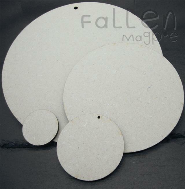 Wooden round circle shapes embellishments craft mdf wood for Wood circles for crafts