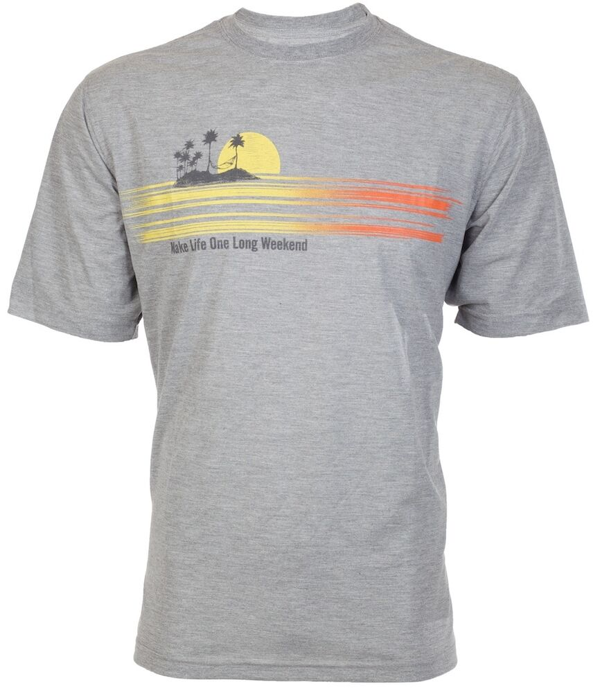 Tommy Bahama Mens T Shirt Make Life One Long Weekend Relax