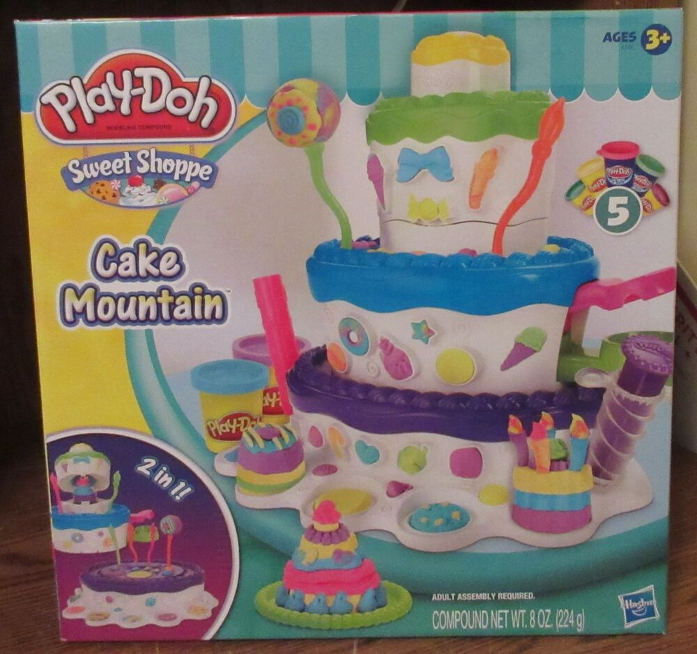 Cake Mountain Playset