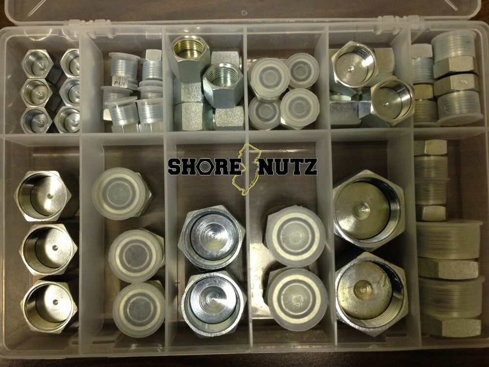 Hydraulic o ring face seal ors plug and cap kit pc orfs