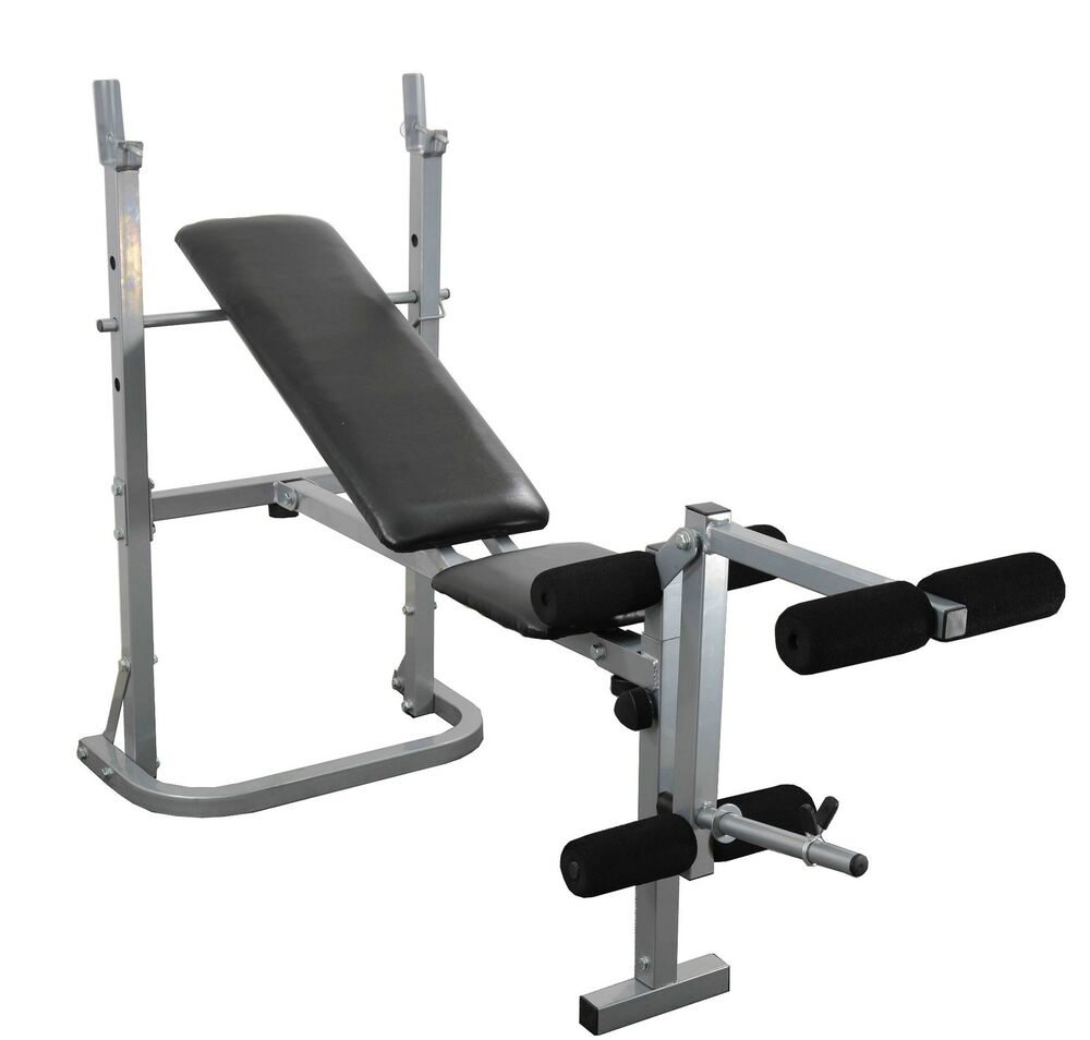 Weight Bench Multi Gym Leg Extension Home Gym Folding