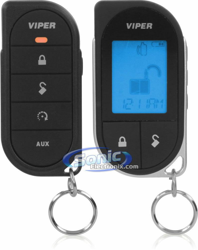 how to start car with viper remote