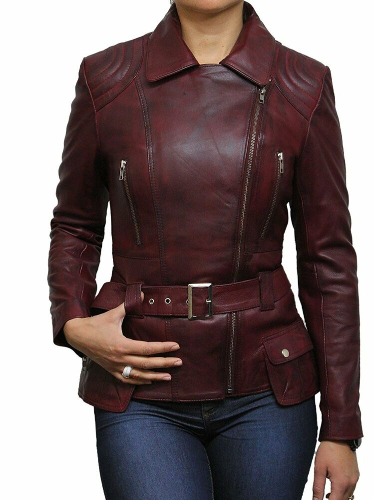 Vintage Leather Jacket Women Leather Jacket Women biker ...