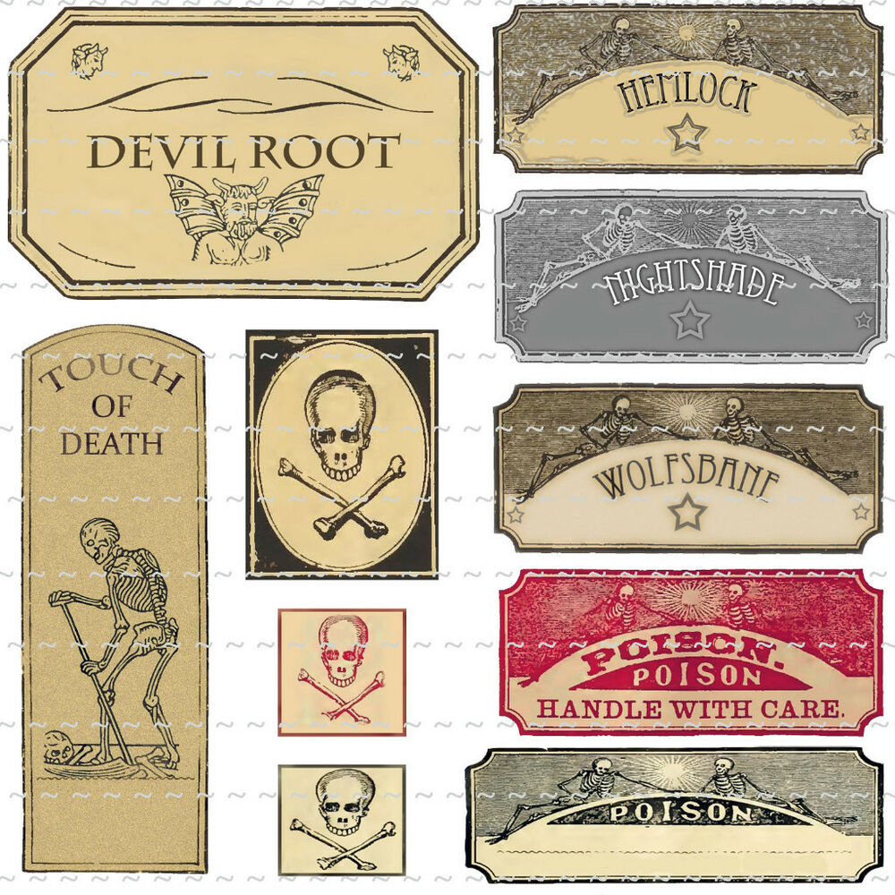 Trust image pertaining to printable halloween labels