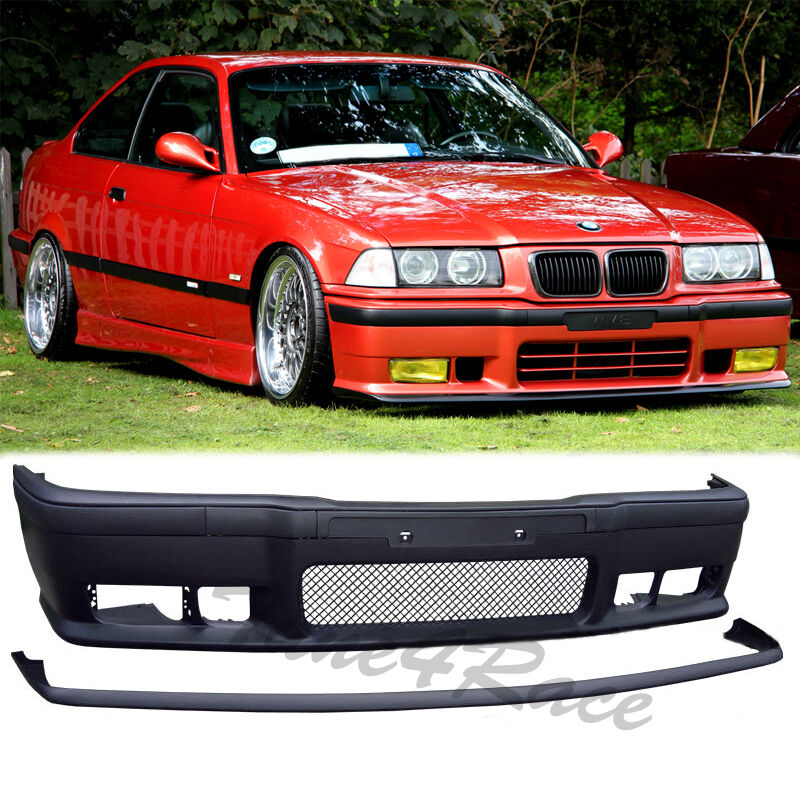 92-98 BMW E36 3-Series M3 Style Front Bumper Body Kit Lip