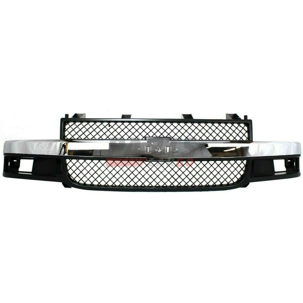 NEW FRONT GRILLE FITS 2003-2017 CHEVROLET EXPRESS 2500