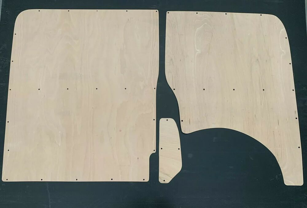 f9810319d2 Details about VW TRANSPORTER T5 Factory Type 6mm Plylining Ply lining Kit  Camper Van Tailgate
