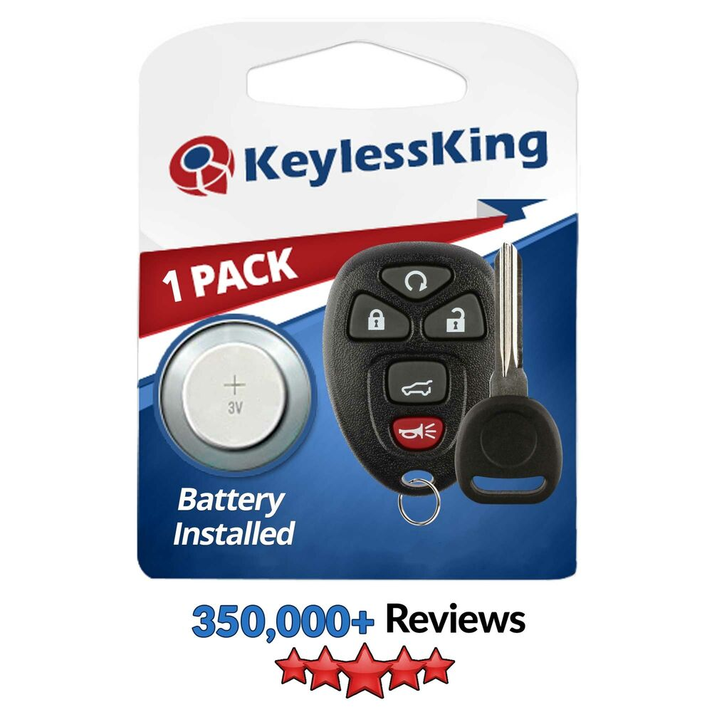 New Replacement Keyless Entry Remote Start Key Fob Clicker