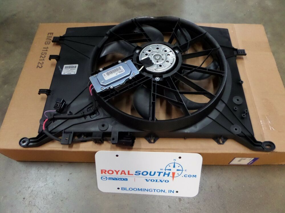 Genuine Volvo S80 S60 V70 Xc70 Electrical Cooling Fan Oe