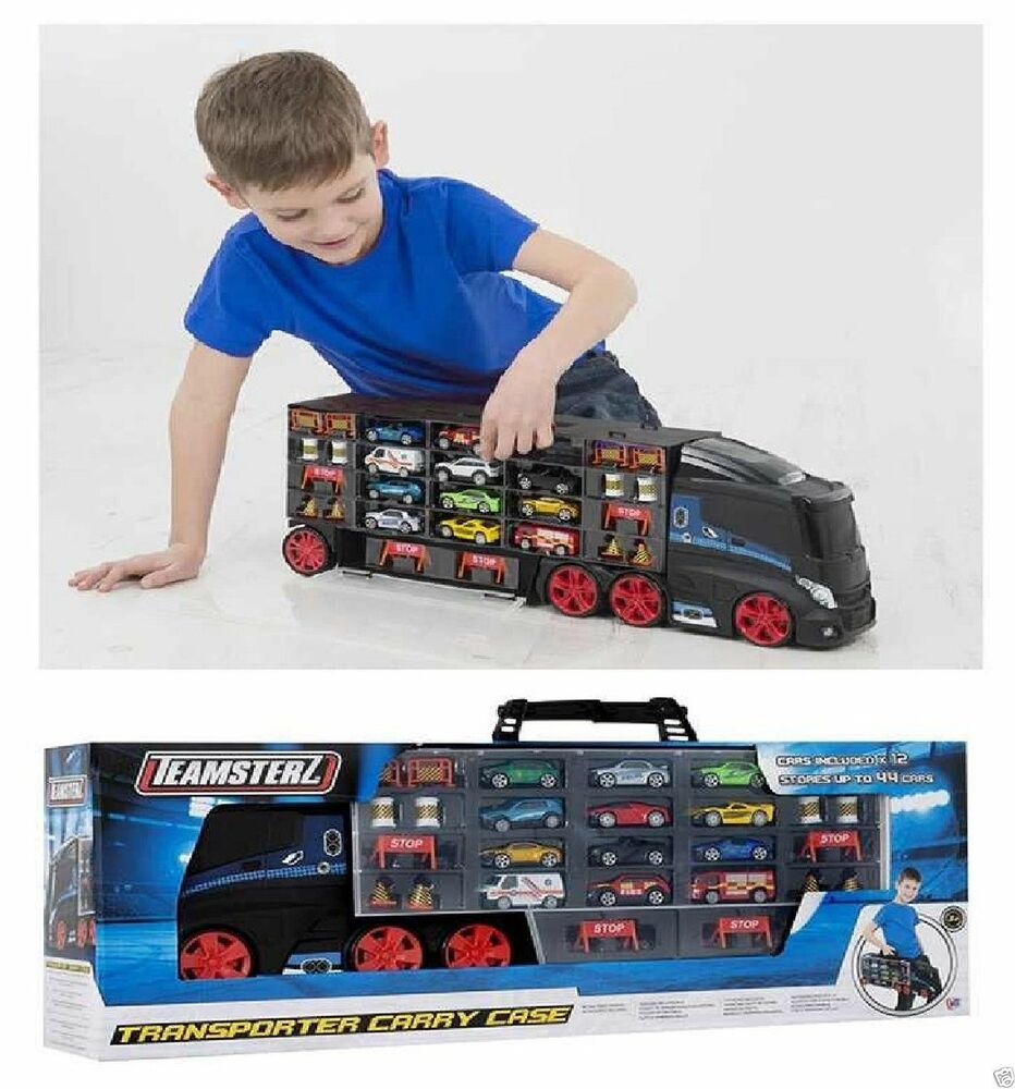 Toy Car Case : Teamsters diecast car transporter vehicle cars kids toy