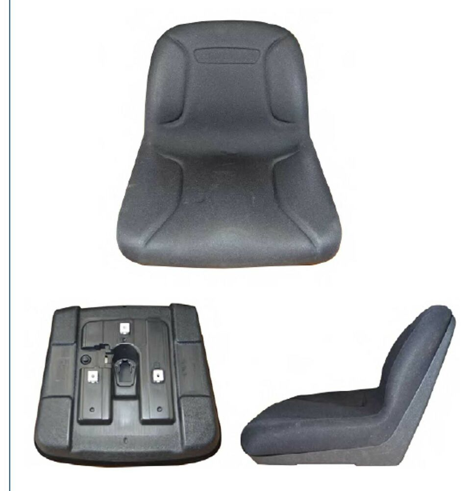 Cub Cadet Tractor Seat : Ride on mower high back seat garden tractor black cub