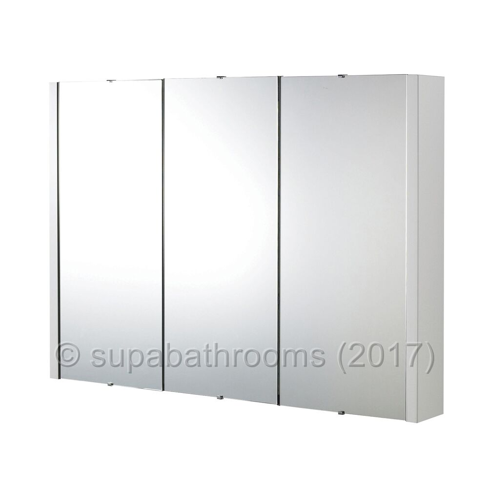 3 door mirrored bathroom cabinet white 900 gloss white 3 door mirror bathroom cabinet wall 24756