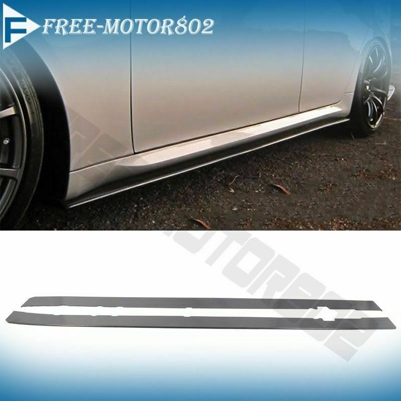 fit audi ford honda universal side skirts extension
