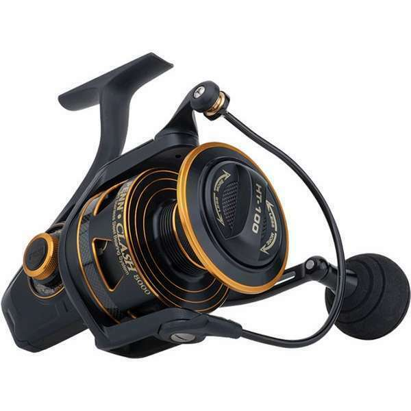 Penn clash 4000 cla4000 spinning fishing reel brand new at for 13 fishing creed gt