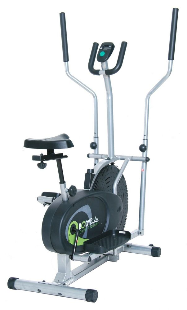 Elliptical Machine Dual Cardio Body Trainer Exercise Bike ...