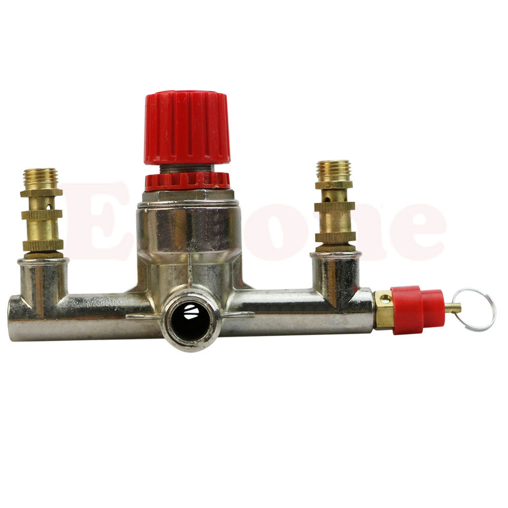 Alloy air compressor switch double outlet tube pressure
