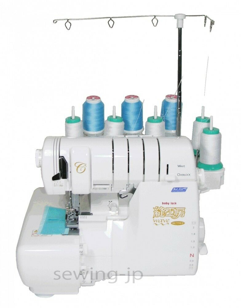 New babylock cover over wave lock stitch 8 thread serger evolution