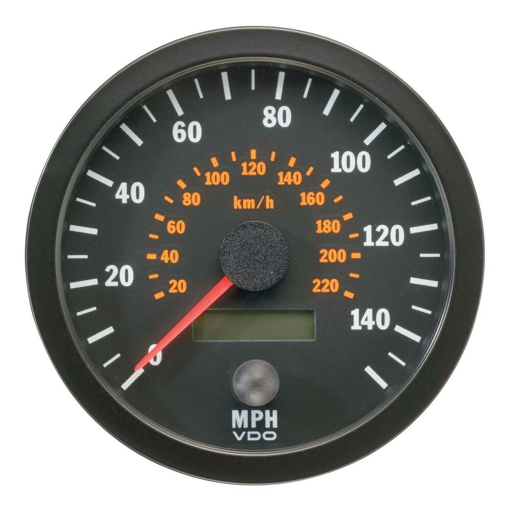 My Bmw Usa >> VDO Vision Range Speedometer 0-140 Mph / 0-220 Kph - 80mm ...