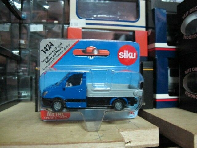 Mercedes benz sprinter pickup truck toy car siku 1424 ebay for Mercedes benz truck toys