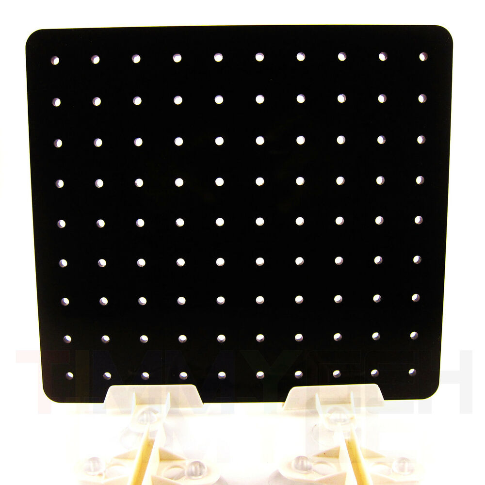 Aquarium black acrylic divider with holes suction cup for Fish tank divider 5 gallon