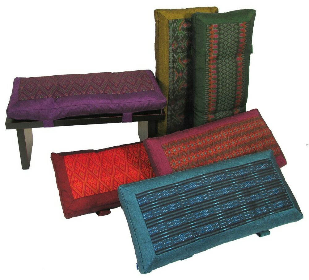 meditation bench cushion for kneeling zen seiza global